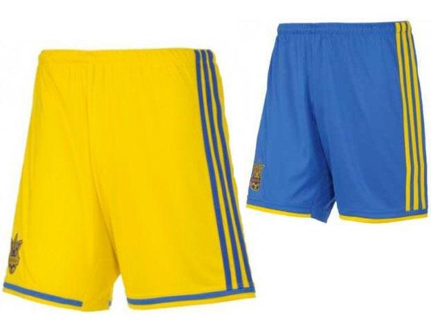 Оригинальные шорты Adidas сборной Украины fabbc45f05391